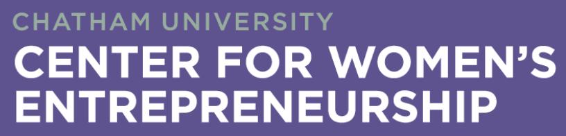 Chatham Center for Women's Entrepreneurship Logo